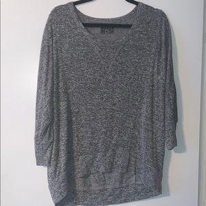 Converse grey shirt